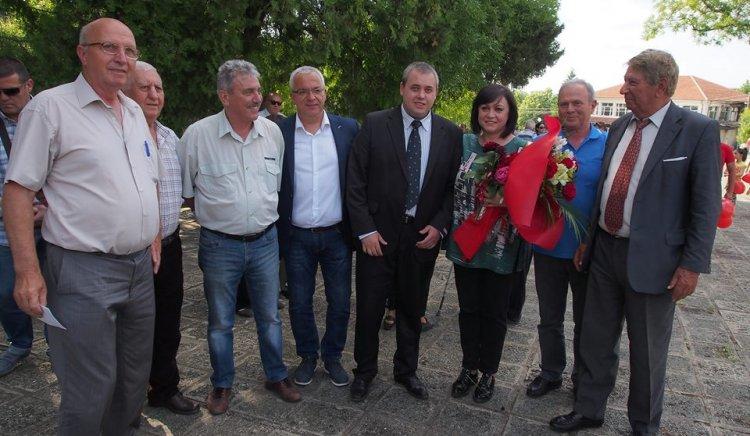 Корнелия Нинова в Галиче:  Дайте пример на цяла България - изгонете мутрите от властта! Отвоювайте си свободата!