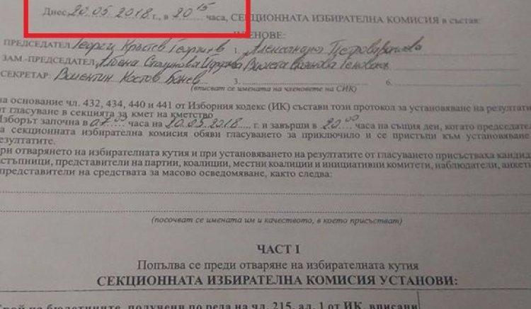 Фалшификации в изборите за кмет на Галиче