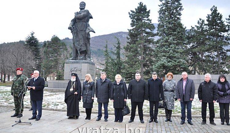 Социалисти от Враца почетоха 167-годишнина от рождението на Ботев